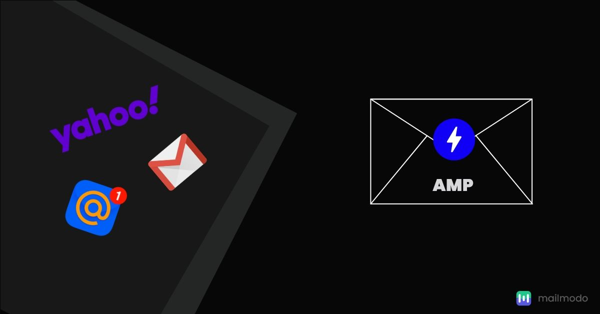 Registering with Gmail, Yahoo Mail and Mail.Ru for AMP Emails